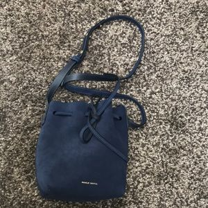 Mansur Gavriel Suede Mini Bucket Bag NWT!